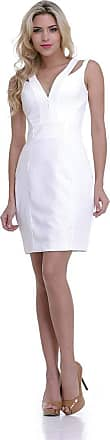 Clara Arruda Vestido Clara Arruda Detalhe Costa 50240 - P - Off White