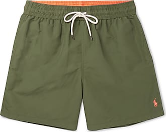 Polo Ralph Lauren Traveller Mid-length Swim Shorts - Green