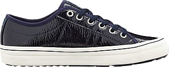 s.Oliver Womens 5-5-23640-24 Low-Top Sneakers, Blue (Navy Patent 832), 5.5 UK