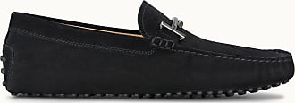 Tod's Gommino Mokassins aus Veloursleder, SCHWARZ, 4.5 - Shoes