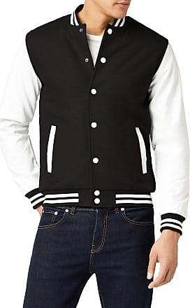 Urban Classics Mens Tb201-00050 Jacket, Black White, XXX-Large