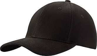4sold Men Women 100% Baseball Cap Polo Style Classic Sports Casual Plain Sun Hat Hats Brass (Black)