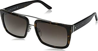 d633bc2fdb Marc Jacobs Mens Marc57s Rectangular Sunglasses Dark Havana Brown Gradient  56 mm