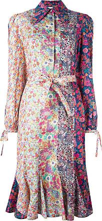 Olympia Le-Tan Chemise com estampa floral - Estampado