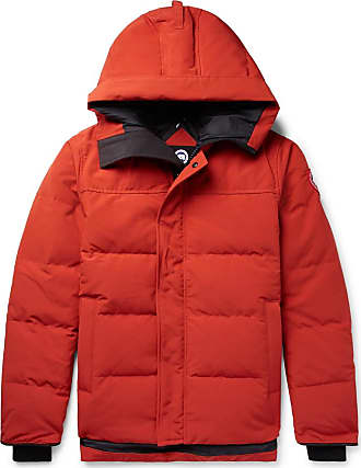 Canada Goose Macmillan Quilted Shell Hooded Down Parka - Orange
