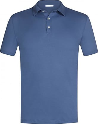 Simon Gray Ice Polo-Shirt (Blau) - Herren