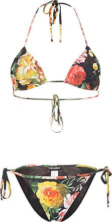 1104750ce4930 Dolce & Gabbana Floral print bikini - Hnt41 Multicoloured