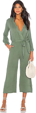 Sundry Belted Jumpsuit in Olive