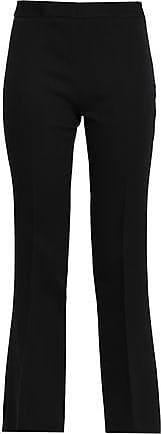 Giambattista Valli Giambattista Valli Woman Cropped Crepe Bootcut Pants Black Size 42