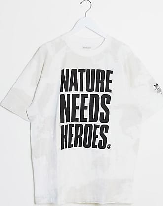 Timberland statement oversized t-shirt-White