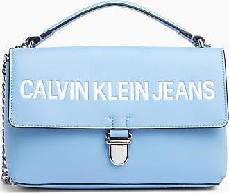 Calvin Klein Logo Flap Cross Body Bag BLUE 7bd77ab9a7