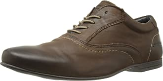 Base London GALACTIC Mens Leather Lace-Up Shoes Brown 44
