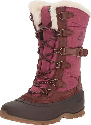 kamik SNOVALLEY2 Womens Snow Boots, Red (Burgundy-BUR), 8 UK (41 EU)