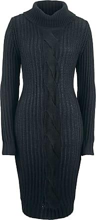 8ca212996975a0 Bonprix Dames jurk lange mouw in zwart - bpc bonprix collection