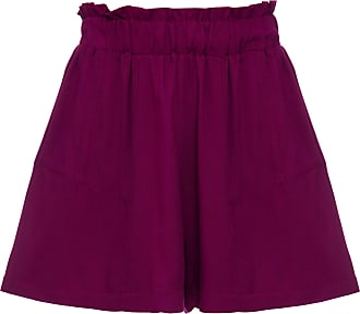 Vi And Co Shorts Nazaré Roxo - Mulher - PP BR