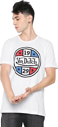 Von Dutch Camiseta Von Dutch Star 1929 Branca