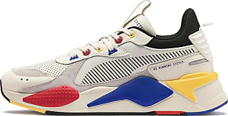 Puma Womens PUMA Rs-X Colour Theory Trainers, Whisper White/Black, size 3.5, Shoes