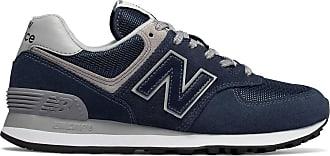 new balance 574 uomo blu navy 43
