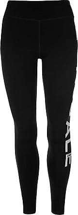 Lonsdale Womens Leggings Pants Trousers Bottoms Elasticated Waist Black 16 (XL)