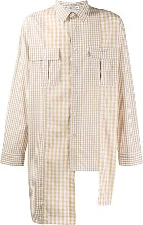 J.W.Anderson Camisa assimétrica com mangas longas - Neutro