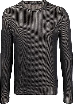 Zanone Suéter de tricô canelado - Neutro