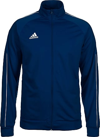 adidas Veste de sport Core blanc / bleu foncé