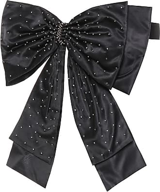 Erdem Embellished silk bow belt