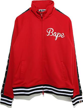 A Bathing Ape Tiger Jersey zip jacket