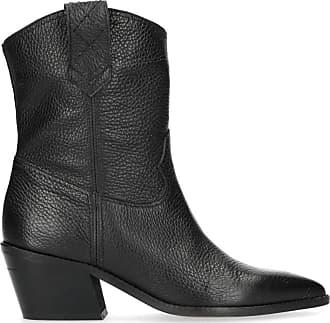 6da0ac3ed10c Sacha Bottines en cuir style western avec talon - marron (36