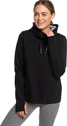 5996b805648 Roxy Echoes Of Silence - Sweat à capuche de sport pour Femme - Noir - Roxy