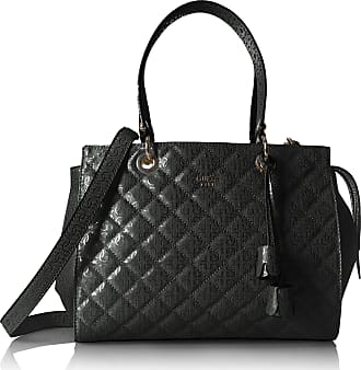 Guess womens SG685509 Seraphina Large Satchel black Size: One Size