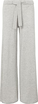 include Knitted trousers in 100% cashmere include grey