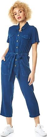 Roman Originals Women Drawstring Waist Utility Jumpsuit - Ladies Daywear Casual Everyday Spring Summer Garden Party BBQ Holiday Vacation Short Sleeve Romper Jumpsuit