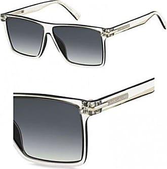 4f1a12a03ad0 Marc Jacobs Mens Marc222s Rectangular Sunglasses, CRYS BLCK, 58 mm