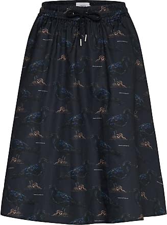 Blue Atika Skirt  UNMADE Copenhagen  Midi- & knelange skjørt - Dameklær er billig