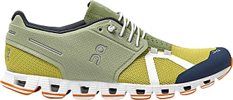On Running Mens Cloud 70/30 Mesh Leaf Mustard Trainers 10.5 UK