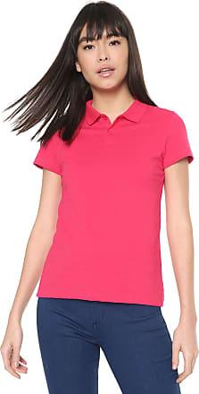 Malwee Camisa Polo Malwee Reta Lisa Pink