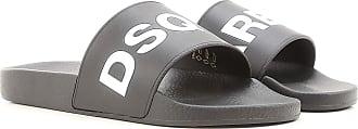 Dsquared2 Sandals for Men On Sale, Black, Leather, 2019, 10 5 5.5 6 6.5 7 8 9 9.25 9.5