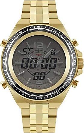 Technos Relógio Technos Masculino Esportivo Ana-Digi Dourado 2035MSD/4B
