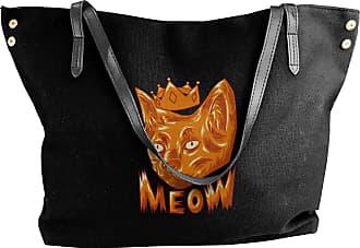 Juju Meow! Cats! Womens Classic Shoulder Portable Big Tote Handbag Work Canvas Bags