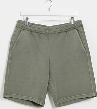Weekday Hakim - Graue Jersey-Shorts mit Waschung