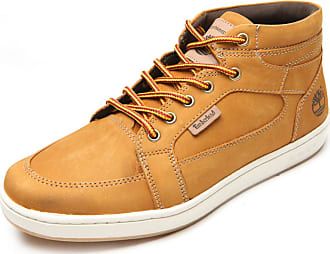 Timberland Bota Timberland EK Packer Leather Chukka Amarelo