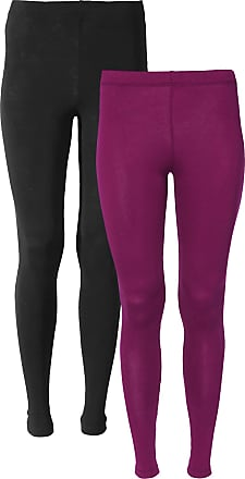 Bodyflirt Dam Leggings (2-pack) i lila - BODYFLIRT 298b6db7e68f4