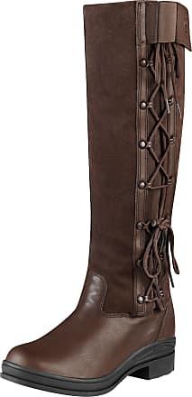 Ariat Womens Grasmere Waterproof Boots in Chocolate, B Medium Width, Regular Calf, Size 3.5, by Ariat