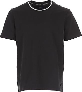 Ralph Lauren T-Shirt Uomo On Sale, Nero, Cotone, 2019, L M S XL XXL