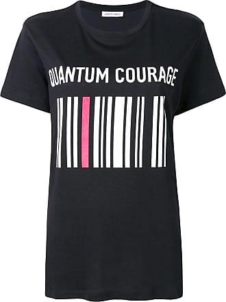 Quantum Courage Camiseta com estampa brocada - Preto