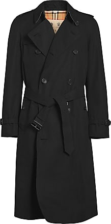 Burberry The Long Chelsea Heritage Trench Coat - Preto