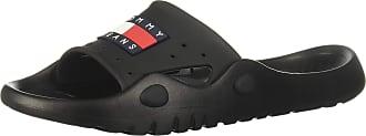 Tommy Jeans Heritage Poolslide Mens Slide Sandals in Black - 10.5 UK