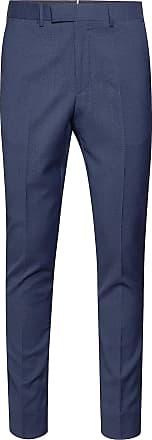 J.LINDEBERG Grant Tech Linen mørkeblå linbukse til herre