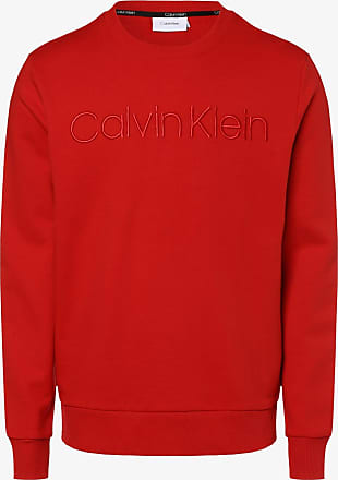 Calvin Klein Herren Pullover Weinrot